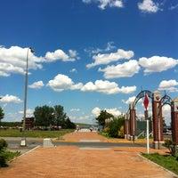 Photo taken at Canarsie Pier by Van S. on 6/23/2012