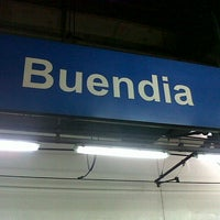 Photo taken at Yellow Line - Buendia Station by Geo D. on 7/15/2012