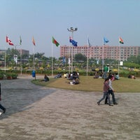 Photo taken at Lovely Professional University by Khushman P. on 12/10/2011