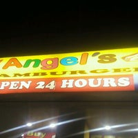 Photo taken at Angel's Hamburger by Jaypee C. on 1/12/2012
