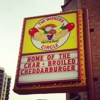 Photo taken at The Wiener's Circle by Jordan J. on 6/23/2012