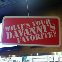 Photo taken at Davanni's Pizza and Hot Hoagies by Rance C. on 5/21/2012