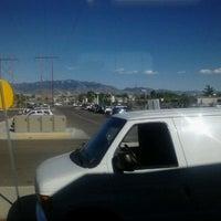 Photo taken at Rail Runner: Los Ranchos/Journal Center by Adrian G. on 4/21/2012