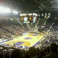 Photo taken at Bramlage Coliseum by Valerie A. on 2/4/2012