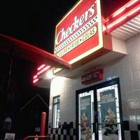 Photo taken at Checker's by Chantel H. on 12/31/2011