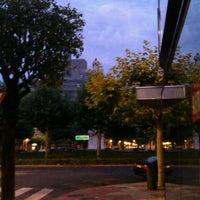 Photo taken at Plaza de la Inmaculada by Ruben G. on 8/21/2011