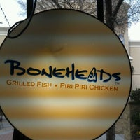 Photo taken at Boneheads by Mike M. on 1/19/2012