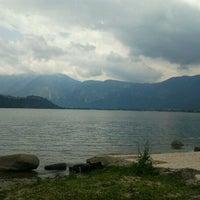 Photo taken at Lago di Caldonazzo by Daniele B. on 7/17/2011