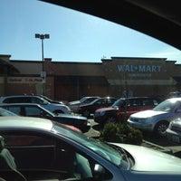 Photo taken at Walmart Supercenter by brandon d. on 5/14/2012