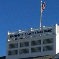 Photo taken at Hampton Beach State Park by Damien C. on 5/6/2012