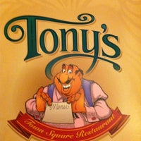 Photo taken at Tony's Town Square Restaurant by Kevin H. on 5/6/2012