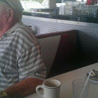Photo taken at New York Diner & Bagel by Becca O. on 9/10/2011