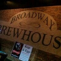 Photo taken at Broadway Brewhouse by Carol F. on 11/27/2011
