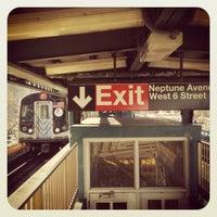 Photo taken at MTA Subway - F Train by Glennjamin B. on 2/18/2012
