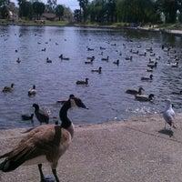 Photo taken at Eisenhower Park by Stefanie P. on 3/10/2012