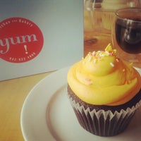 Photo taken at Yum! Kitchen and Bakery by Riché E. on 4/22/2012
