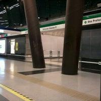 Foto tomada en Metro Vicente Valdés por Carito M. el 10/3/2011