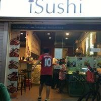 Photo taken at iSushi by 🎀 Chel Chel . on 9/12/2011
