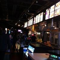 Photo taken at Cineplex Cinemas Yonge-Eglinton by Gloria R. on 4/19/2012