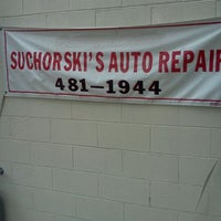 Photo taken at SUCHORSKI'S AUTO REPAIR by James S. on 9/16/2011