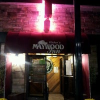 Photo taken at Maywood Inn's Twin Door Tavern by Jeffrey B. on 10/27/2011