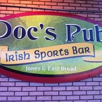 Photo taken at Doc's Pub Irish Sports Bar by Jay on 5/7/2011