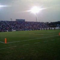 Photo taken at Nixon Field (James F. Byrnes High School) by Makayla B. on 9/3/2011