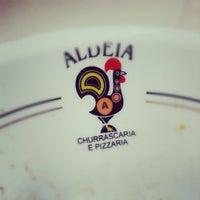 Photo taken at Aldeia Restaurante e Churrascaria by Marcelo B. on 8/20/2012