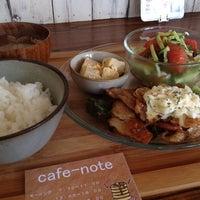 Photo taken at T's cafe-note by Tatsuyuki K. on 8/22/2012