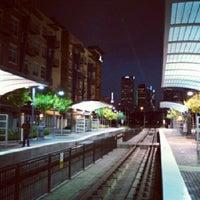 Photo taken at Baylor Medical Center Station (DART Rail) by Mike D. on 7/12/2012
