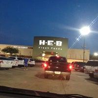 Photo taken at H-E-B by Michael L. on 4/8/2012