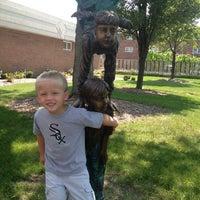 Photo taken at Apollo Recreation Center Alsip Park District by Nikki D. on 9/5/2012