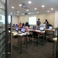 Photo taken at Library Instructional Commons by Vasily S. on 10/5/2011