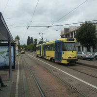 Photo taken at Stalle (MIVB / STIB) by Emmanuel R. on 8/13/2011