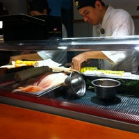 Photo taken at Sushi House by Nicolas L. on 2/1/2011