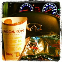 Photo taken at SONIC Drive In by Stephen . on 1/21/2012