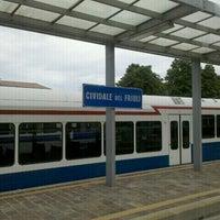 Photo taken at Stazione Di Cividale Del Friuli by Marta S. on 7/25/2012