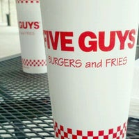 Photo taken at Five Guys by Tiffany V. on 8/16/2011