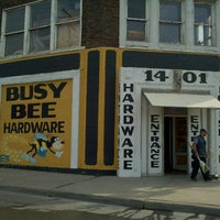 Photo taken at Busy Bee Hardware by Garrick on 7/19/2011