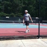 Photo taken at Fair Oaks Tennis Center by Brooke K. on 4/14/2012