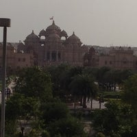Photo taken at Swaminarayan Akshardham by Isha K. on 6/9/2012
