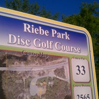 Photo taken at Riebe Park Disc Golf Course by Susan L. on 5/17/2012