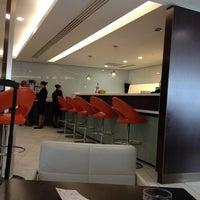Photo taken at Etihad Airways Lounge by Ghanem on 5/13/2012