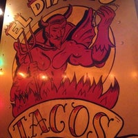 Photo taken at El Diablo Tacos by danielle m. on 8/26/2012