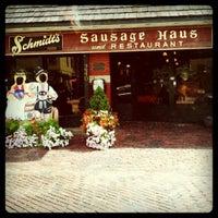 Photo taken at Schmidt's Restaurant und Sausage Haus by Danielle O. on 8/17/2011
