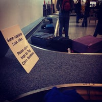 Photo taken at Baggage Claim by Samuel P. on 2/23/2012