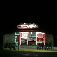 Photo taken at Moms Water Ice & Ice Cream by Amanda D. on 3/15/2011