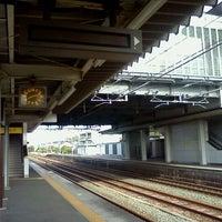 Photo taken at Futagawa Station by Dommy on 9/10/2011