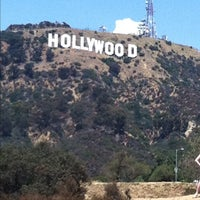 Photo taken at Hollywood Sign Vista Point by Hector V. on 8/11/2012