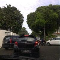 Photo taken at Jl. Mangunsarkoro, Menteng by Meli T. on 3/5/2012